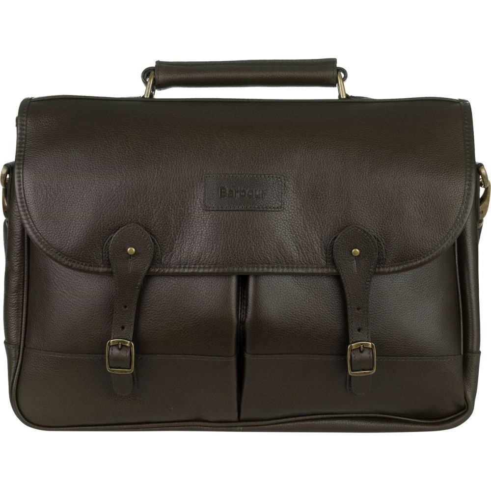 バーブァー レディース バッグ【Leather Briefcase】Dark Brown