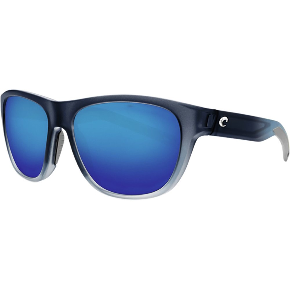 コスタ レディース スポーツサングラス【Bayside Polarized 580G Sunglasses】Blue Mirror g/Bahama Blue Frame
