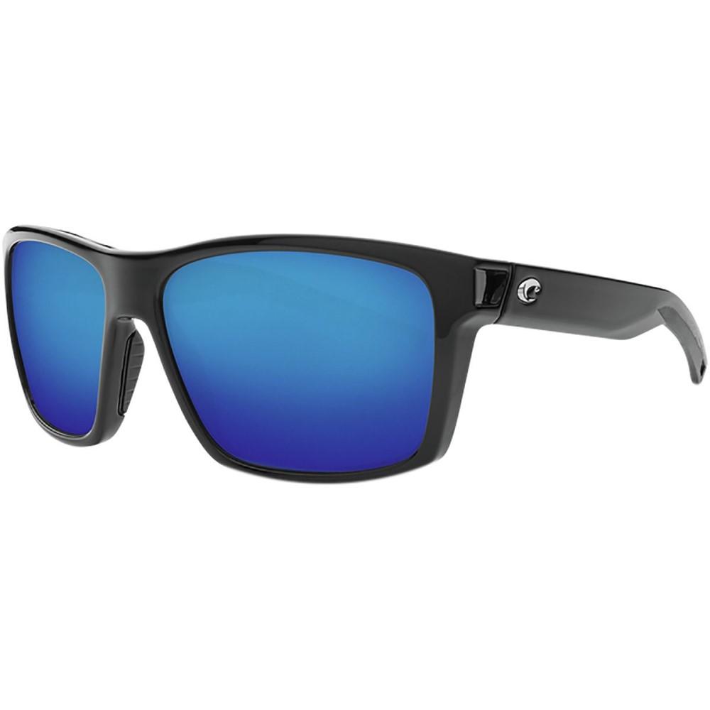 コスタ レディース スポーツサングラス【Slack Tide Polarized 580G Sunglasses】Blue Mirror g/Shiny Black Frame