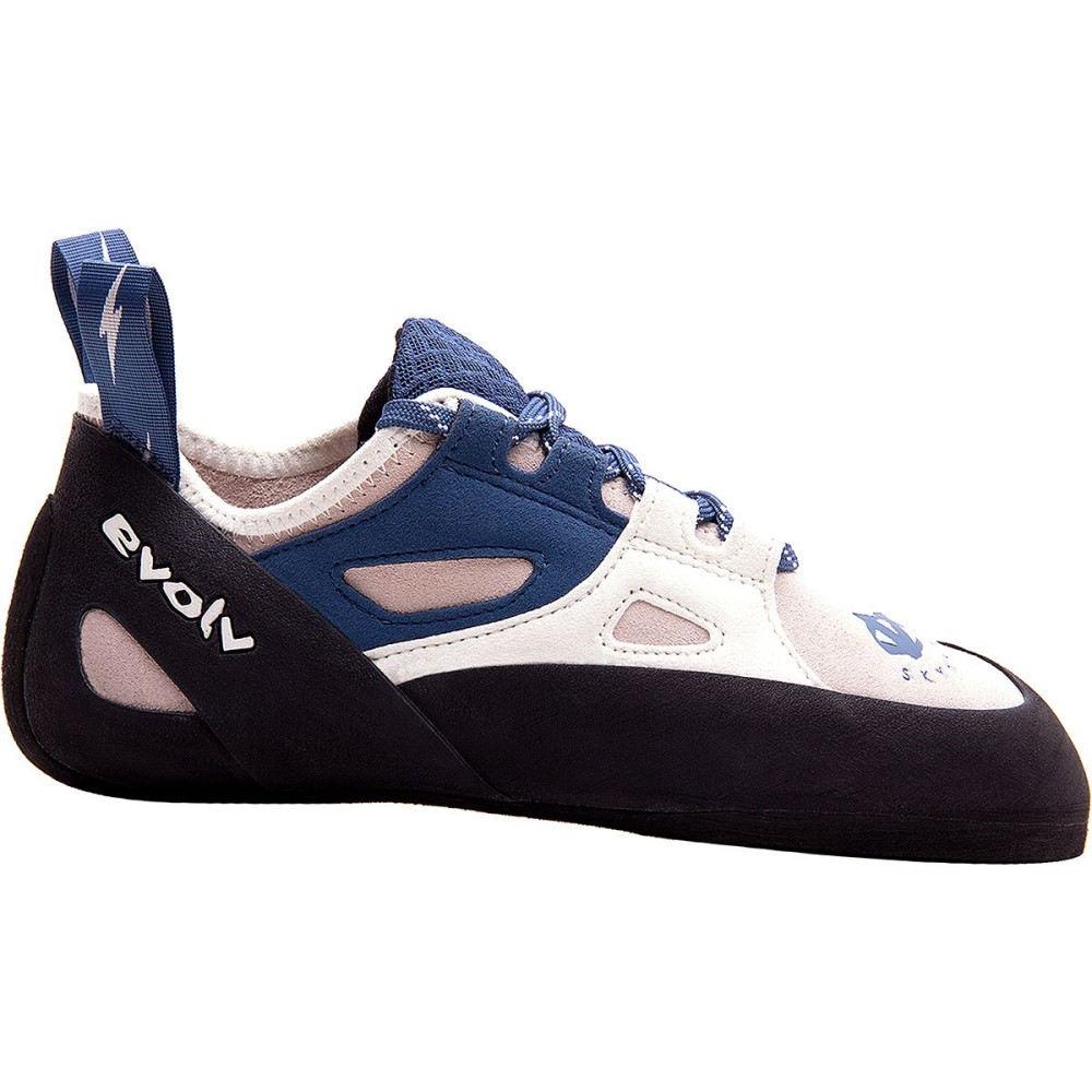 イボルブ レディース クライミング シューズ・靴【Skyhawk Climbing Shoe】White/Blue