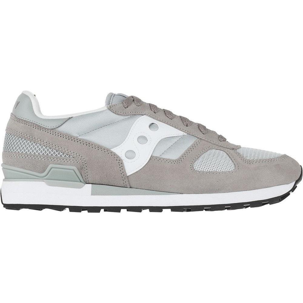 サッカニー メンズ シューズ・靴【Shadow Original Shoes】Grey/White Boston