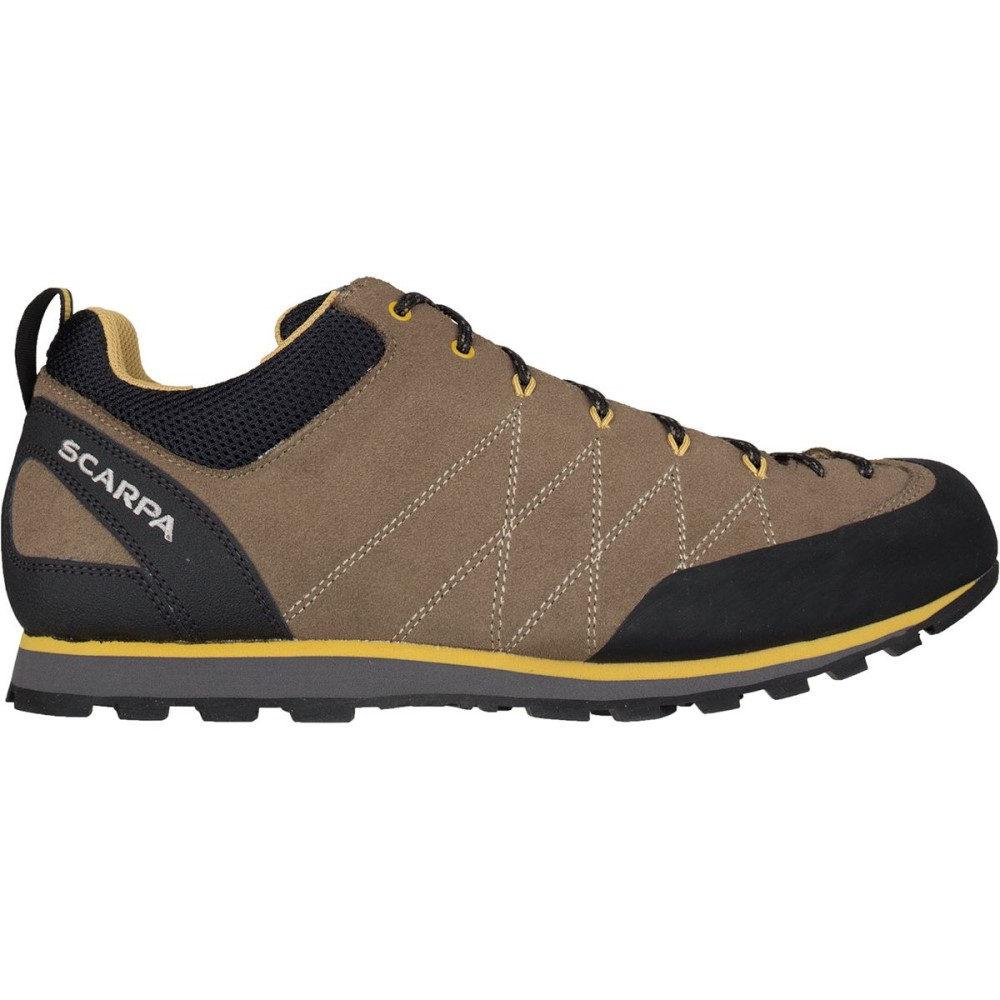 スカルパ メンズ ハイキング・登山 シューズ・靴【Crux Shoes】Light Brown/Mustard