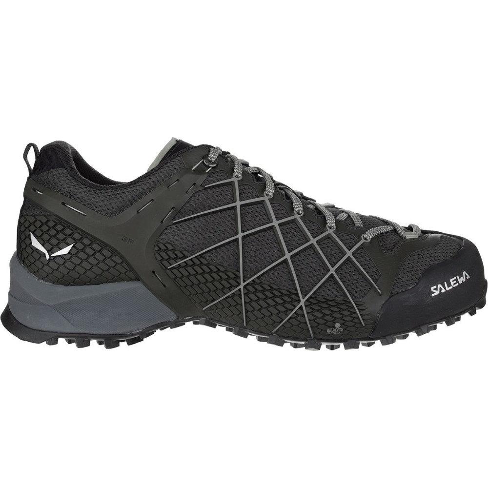 サレワ メンズ ハイキング・登山 シューズ・靴【Wildfire Hiking Shoes】Black Olive/Siberia