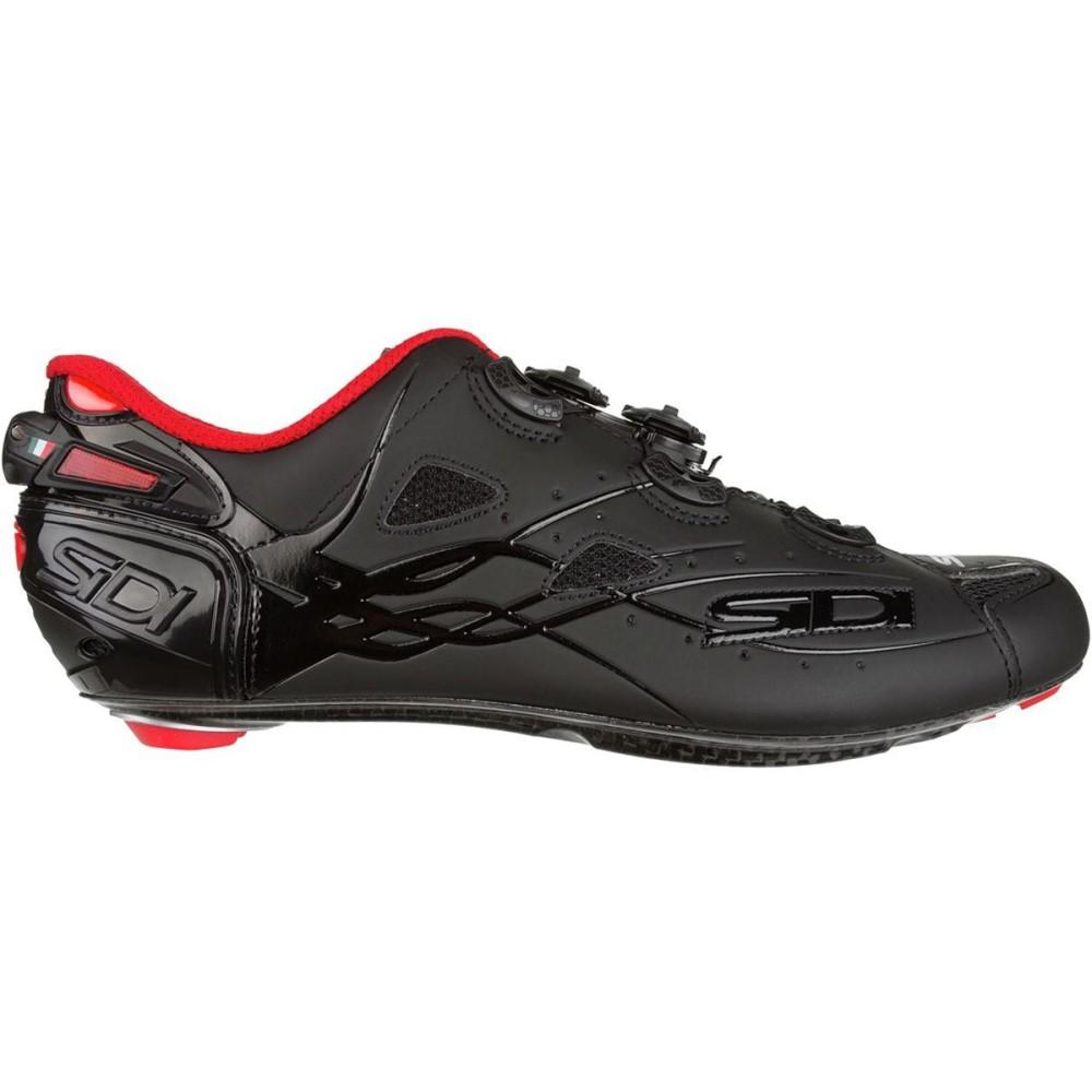 シディー メンズ 自転車 シューズ・靴【Shot Vent Carbon Cycling Shoes】Black/Matte Black