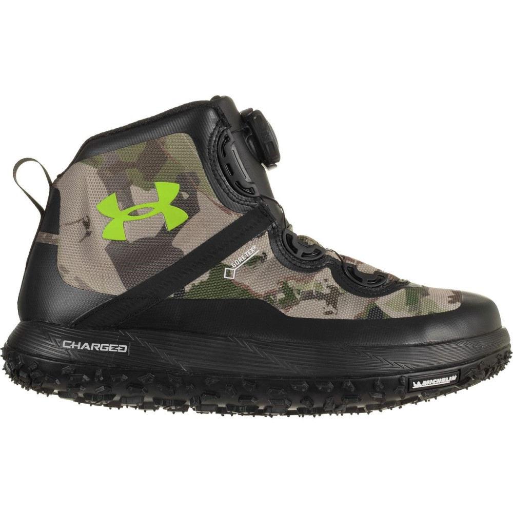 アンダーアーマー メンズ ハイキング・登山 シューズ・靴【Fat Tire GTX Hiking Boots】Ridge Reaper/Barren Camo/Black/Velocity