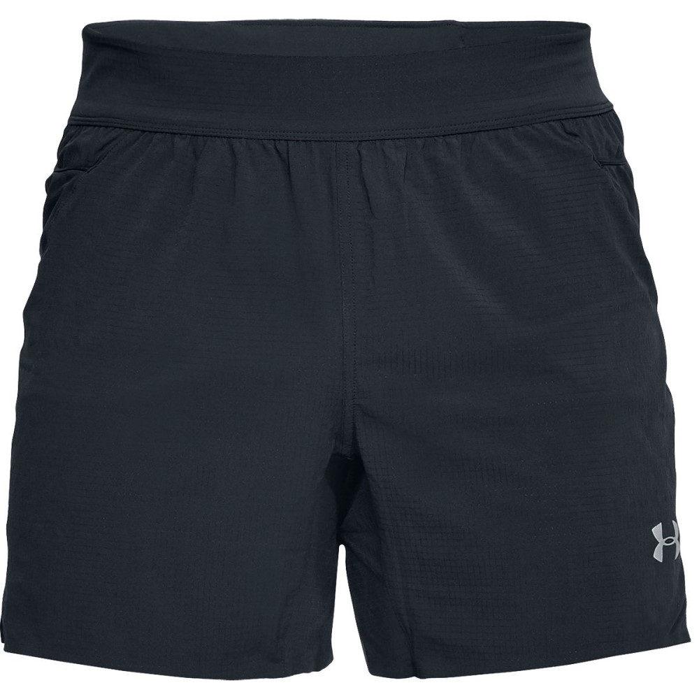 アンダーアーマー メンズ フィットネス・トレーニング ボトムス・パンツ【Atmos Trail Run Shorts】Black/Black/Graphite