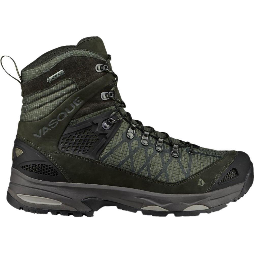 バスク メンズ ハイキング・登山 シューズ・靴【Saga GTX Backpacking Shoes】Dusty Olive/Beluga