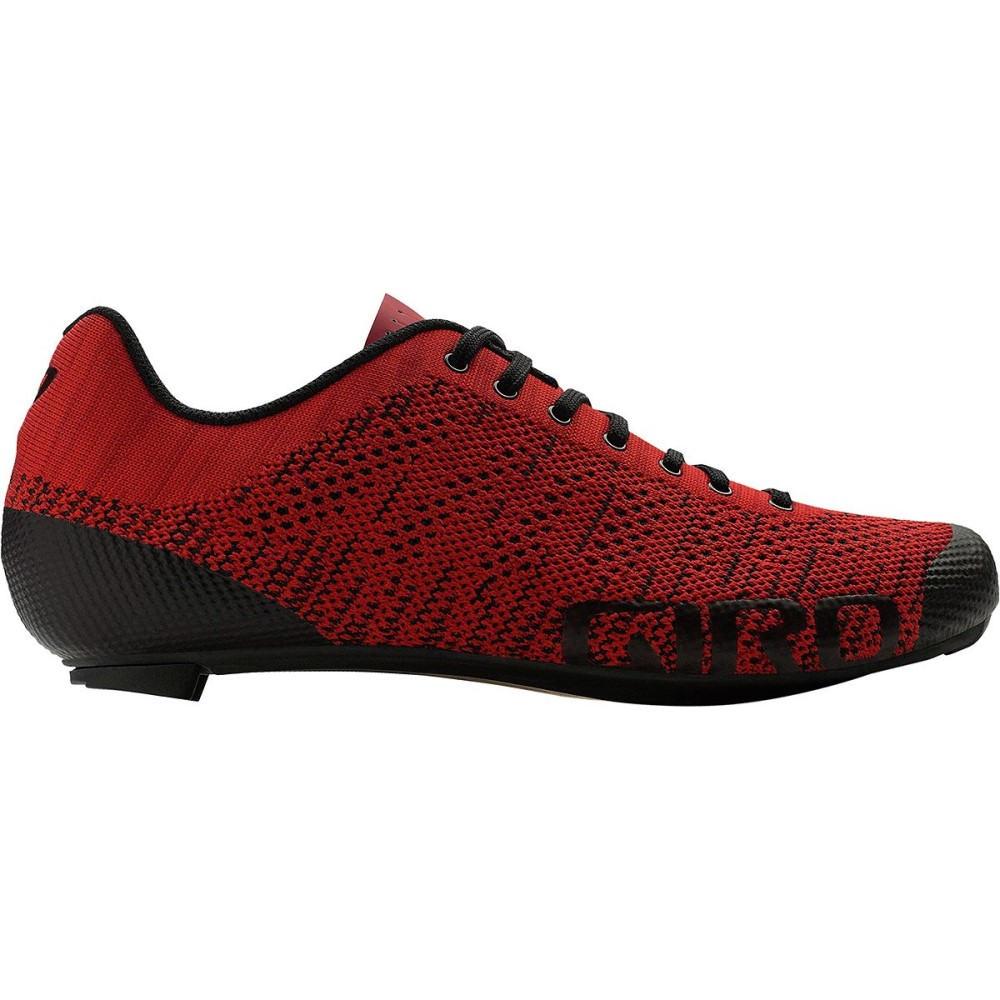 ジロ メンズ 自転車 シューズ・靴【Empire E70 Knit Shoess】Bright Red/Dark Red