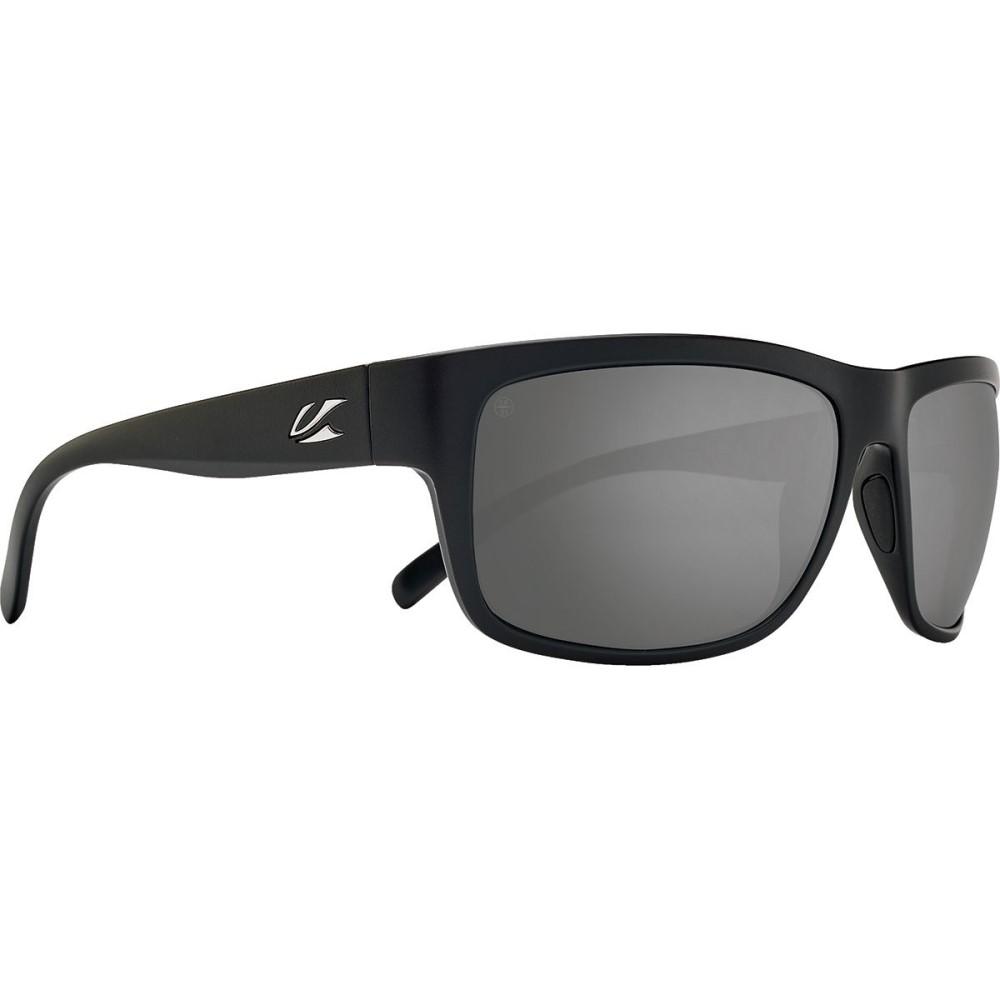 カエノン メンズ スポーツサングラス【Redding Sunglasses - Polarized】Black Label/Grey -Polarized Black Mirror