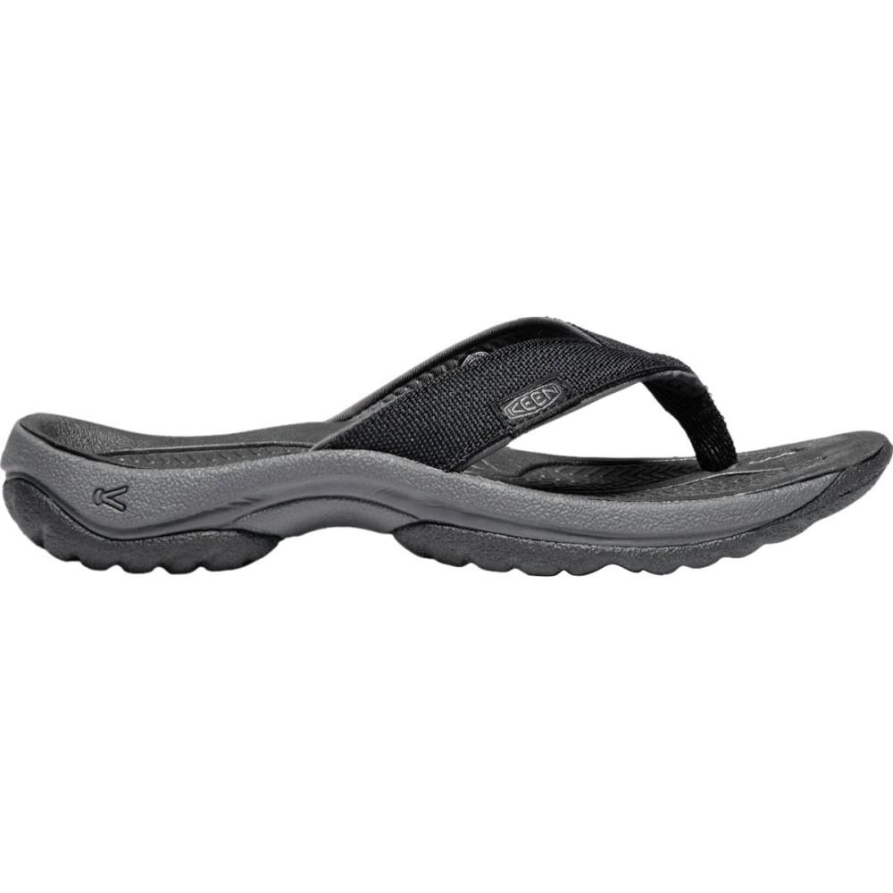 キーン レディース シューズ・靴 ビーチサンダル【Kona Flip Flop】Black/Magnet