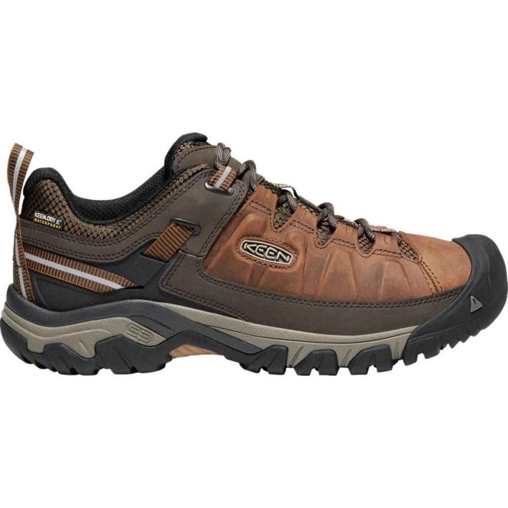 キーン メンズ ハイキング・登山 シューズ・靴【Targhee III Waterproof Leather Hiking Shoes】Big Ben/Golden Brown