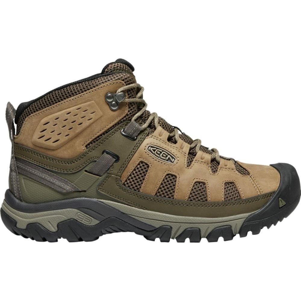 キーン メンズ ハイキング・登山 シューズ・靴【Targhee Vent Mid Hiking Boots】Olivia/Bungee Cord