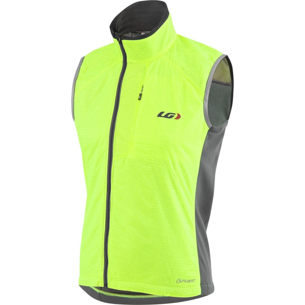 ルイスガーナー メンズ 自転車 トップス【Alpha Vests】Bright Yellow