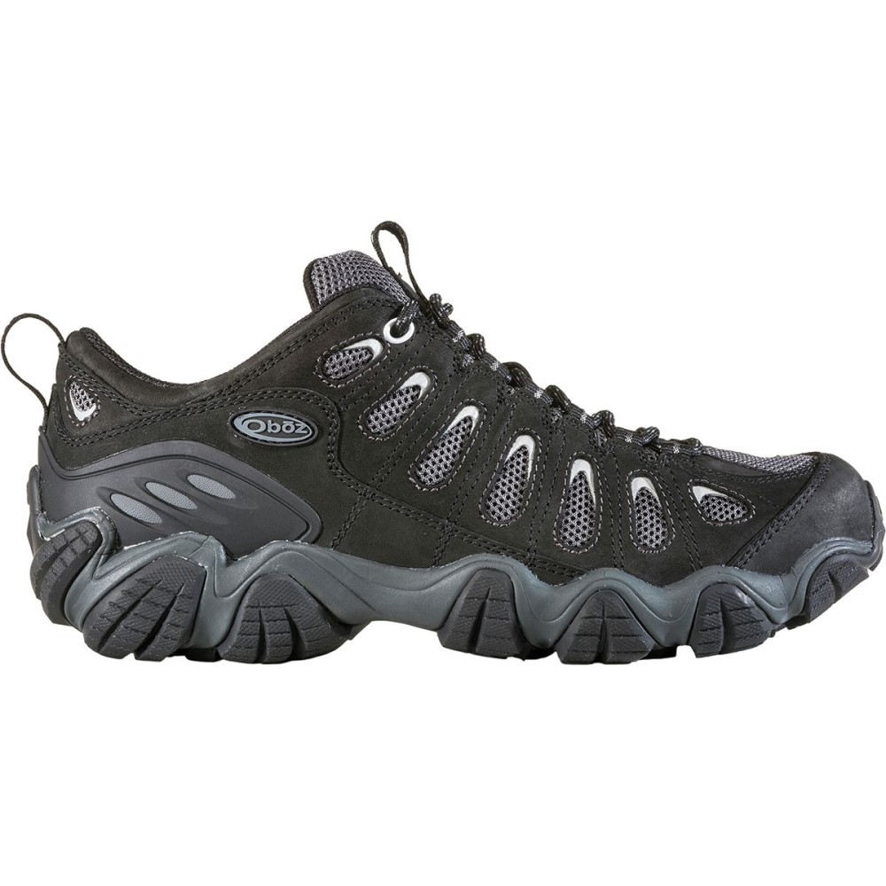 オボズ メンズ ハイキング・登山 シューズ・靴【Sawtooth Low Hiking Shoes】Black Gray