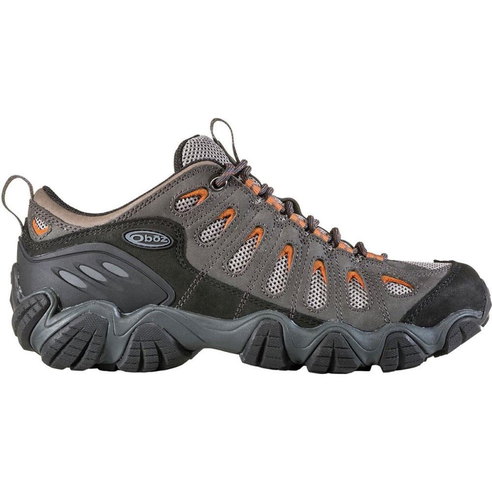 【お気に入り】 オボズ メンズ ハイキング・登山 シューズ・靴【Sawtooth Low Hiking Shoes】Graphite Camel, はんこキング(印鑑シャチハタ) 4453aea3