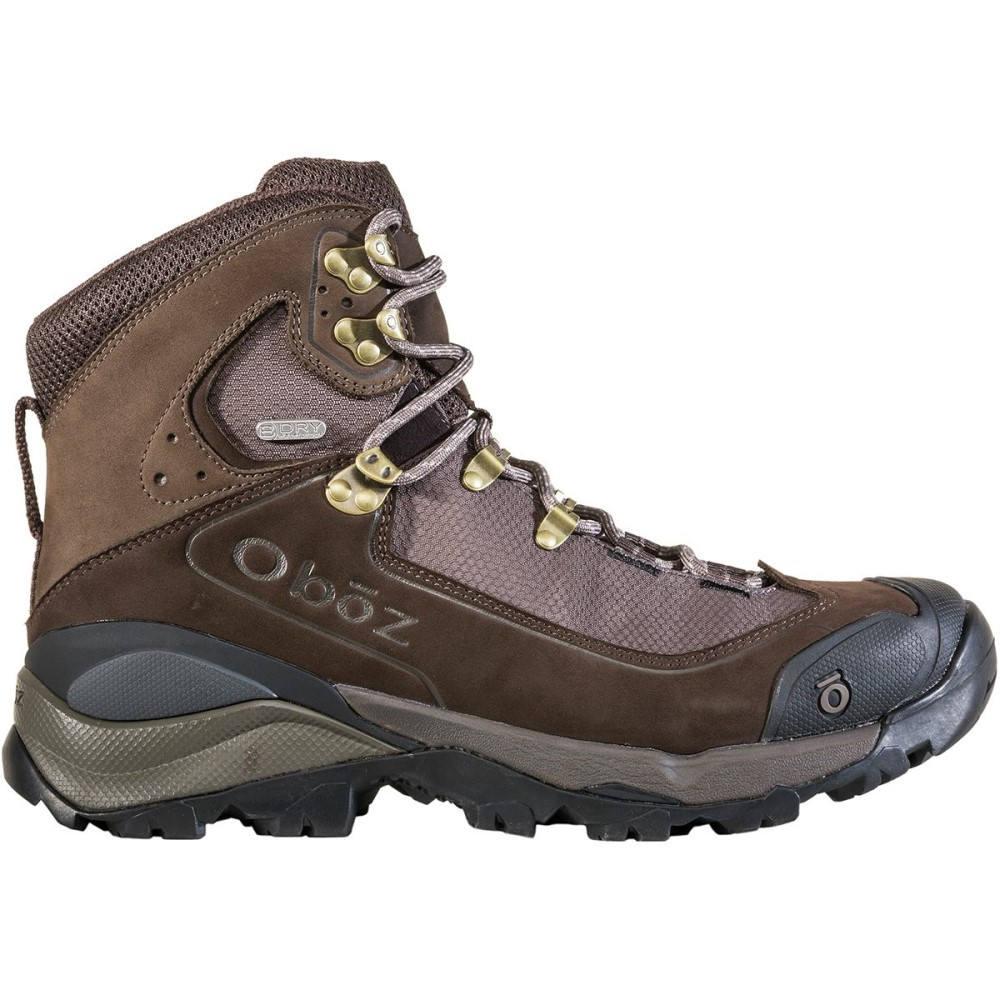 オボズ メンズ ハイキング・登山 シューズ・靴【Wind River III B - Dry Backpacking Boots】Bark Brown