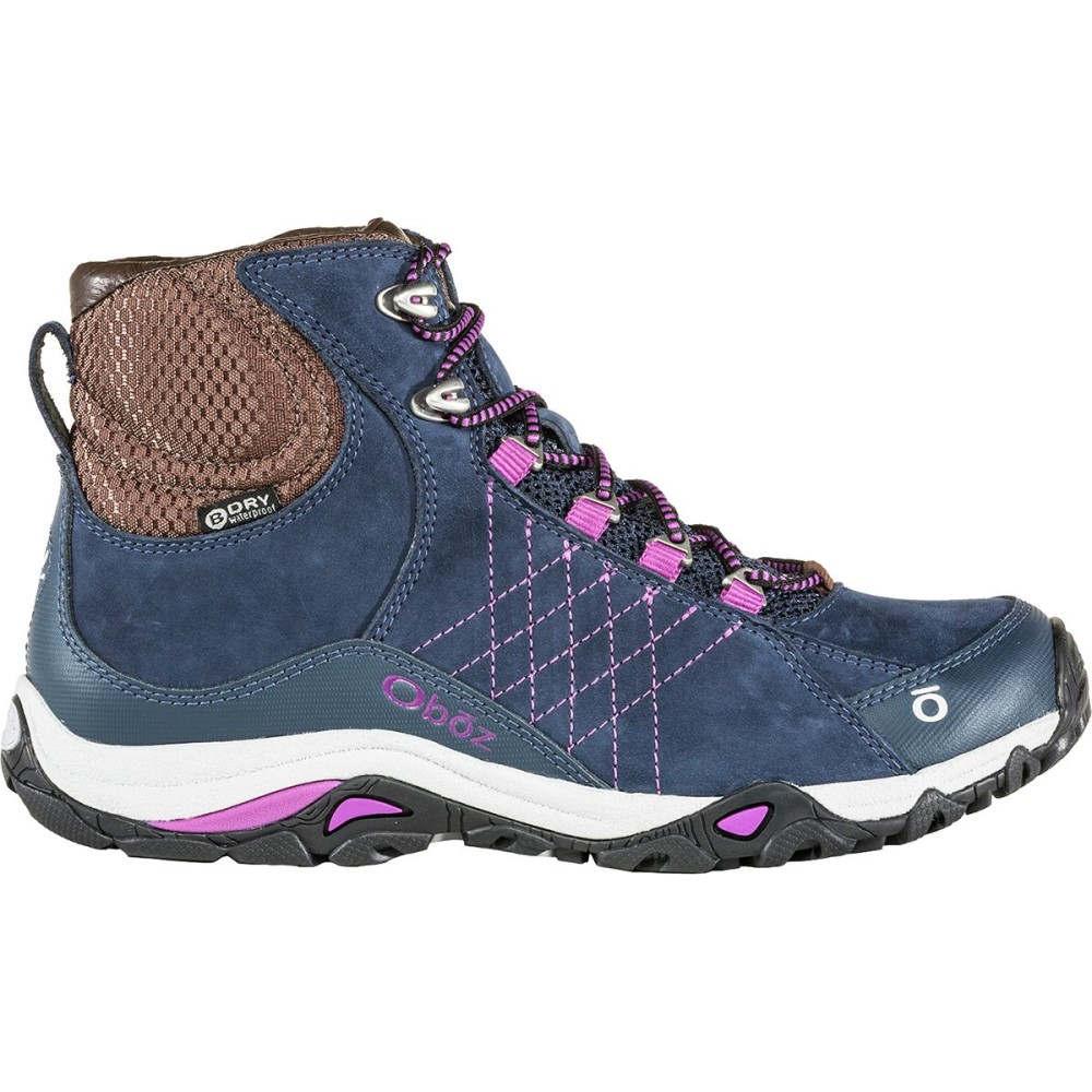 オボズ レディース ハイキング・登山 シューズ・靴【Sapphire Mid B - Dry Hiking Boot】Huckleberry