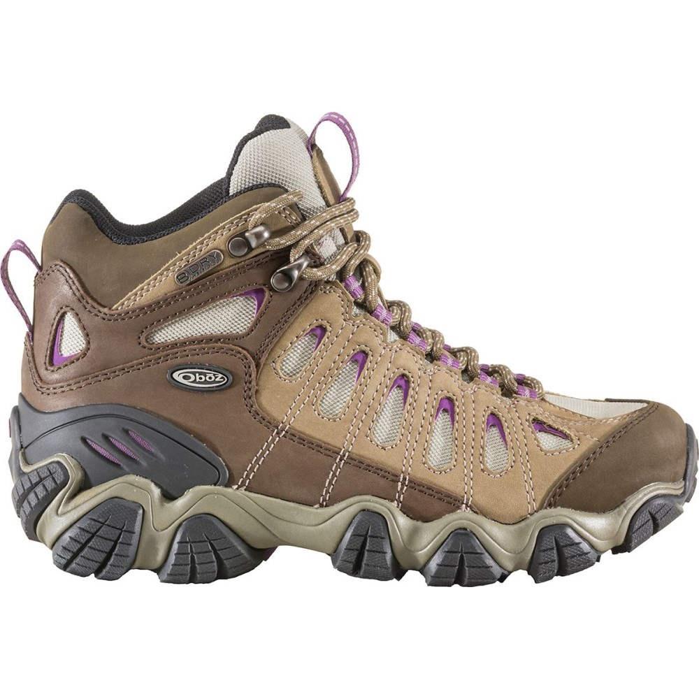 オボズ レディース ハイキング・登山 シューズ・靴【Sawtooth Mid B - Dry Hiking Boot】Violet
