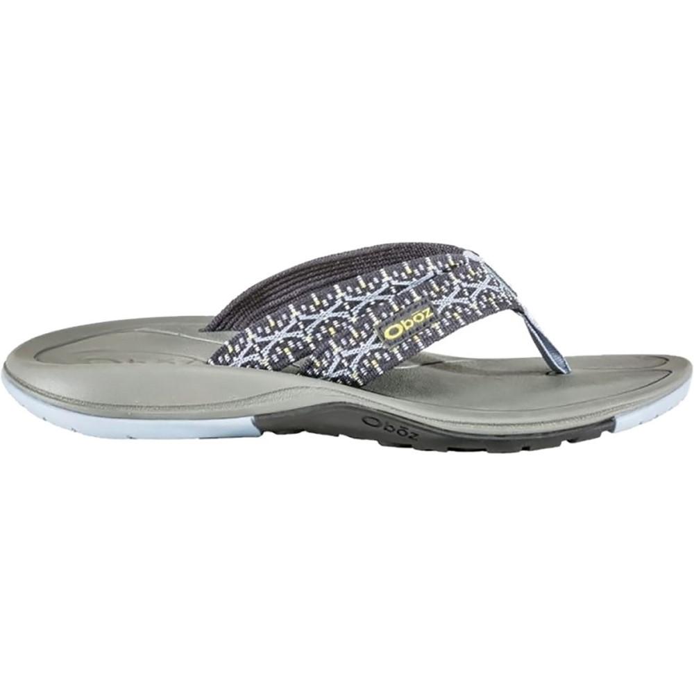 オボズ レディース シューズ・靴 ビーチサンダル【Selway Flip - Flop】Pebble Gray