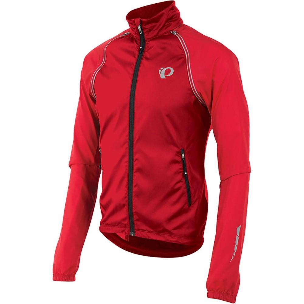 パールイズミ メンズ 自転車 アウター【ELITE Barrier Convertible Jackets】True Red