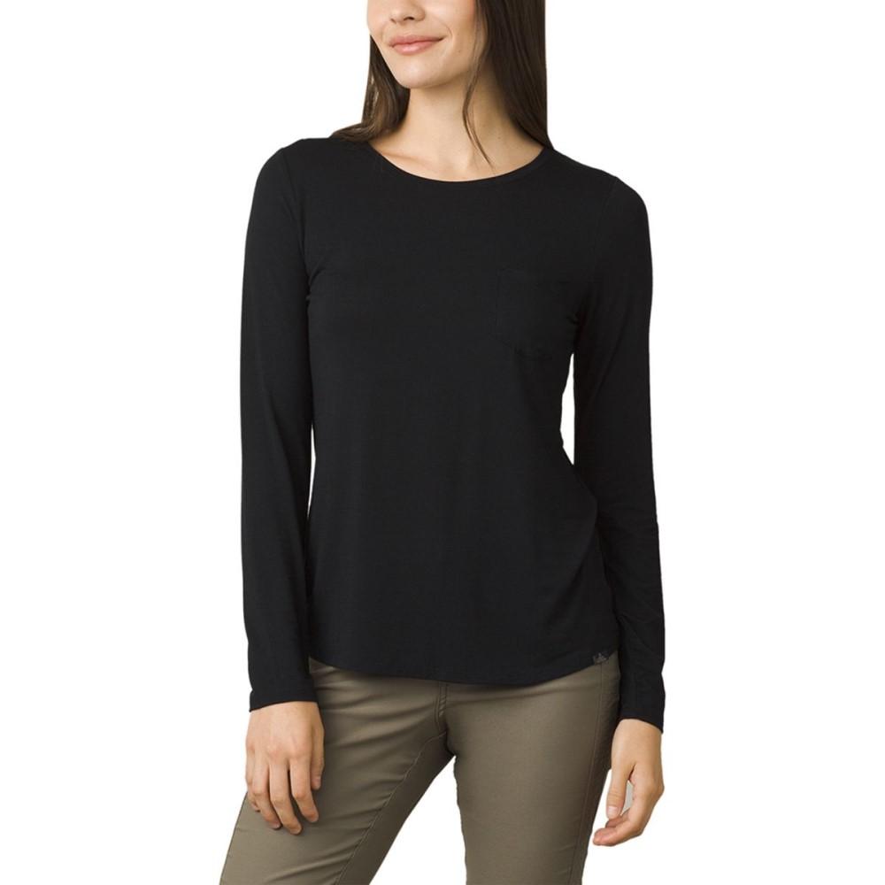 プラーナ レディース トップス ブラウス・シャツ【Foundation Long - Sleeve Shirt】Black