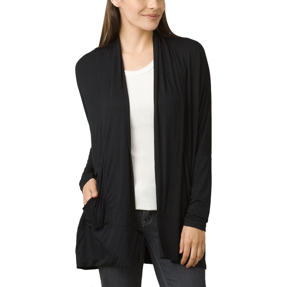 プラーナ レディース トップス ニット・セーター【Foundation Wrap Sweater】Black