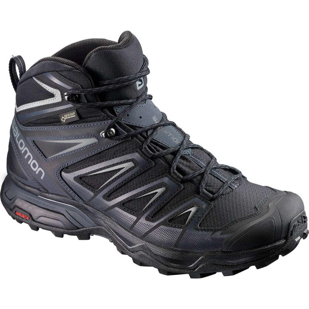 サロモン メンズ ハイキング・登山 シューズ・靴【X Ultra 3 Mid GTX Hiking Boots】Black/India Ink/Monument