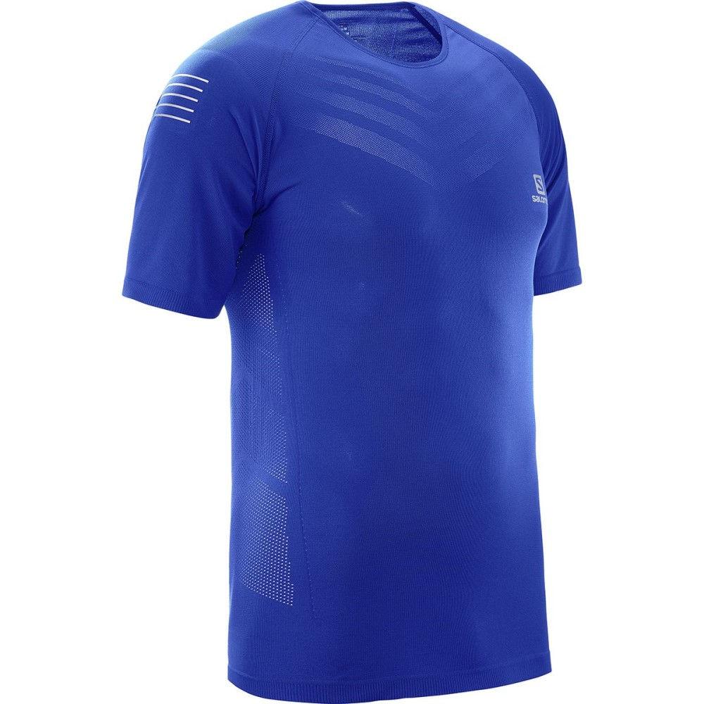 サロモン メンズ トップス Tシャツ【Sense Pro T - Shirts】Surf The Web