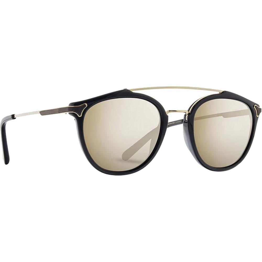 シュウッド レディース メガネ・サングラス【Kinsrow Sunglasses】Black - Gold Mirror