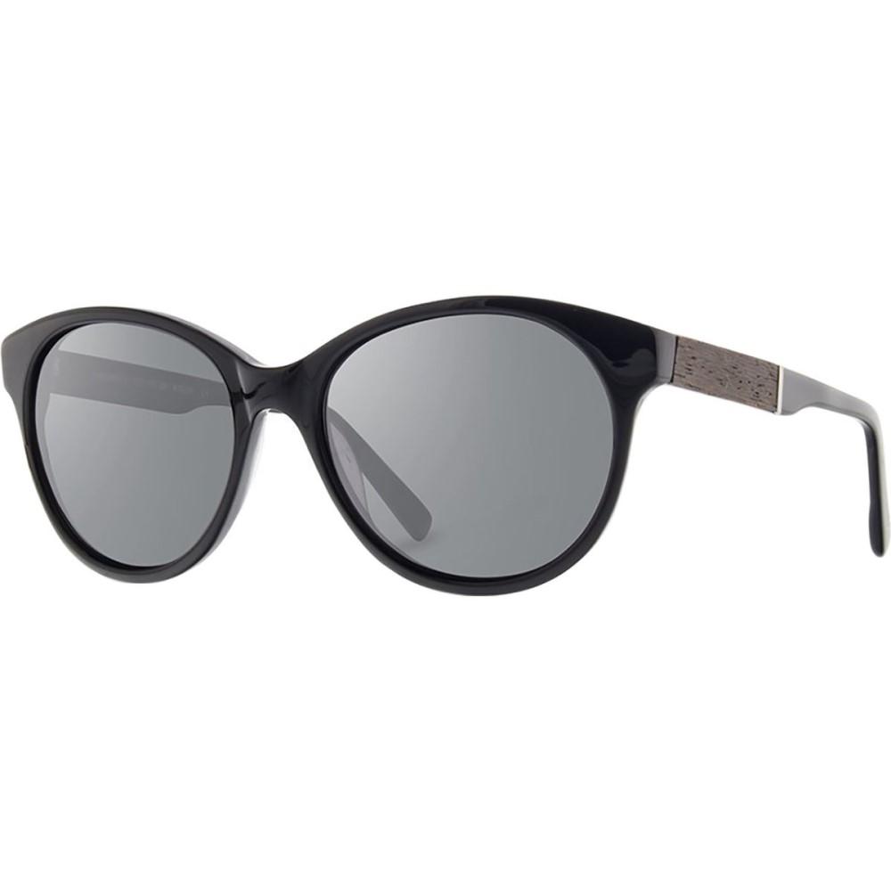 シュウッド レディース メガネ・サングラス【Madison Sunglasses】Black/Ebony - Grey