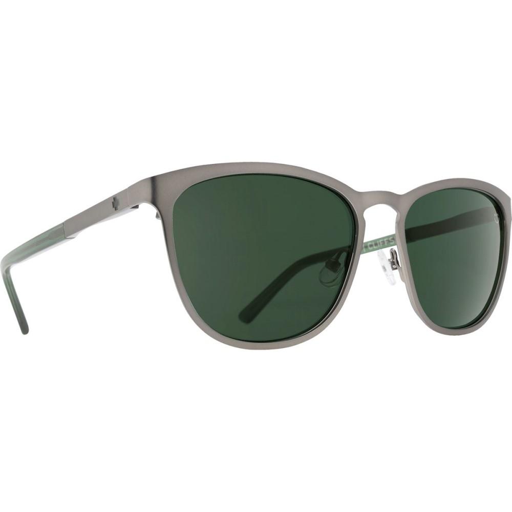 スパイ レディース メガネ・サングラス【Cliffside Sunglasses】Matte Gunmetal/Matte Translucent Seaweed - Happy Gray Green