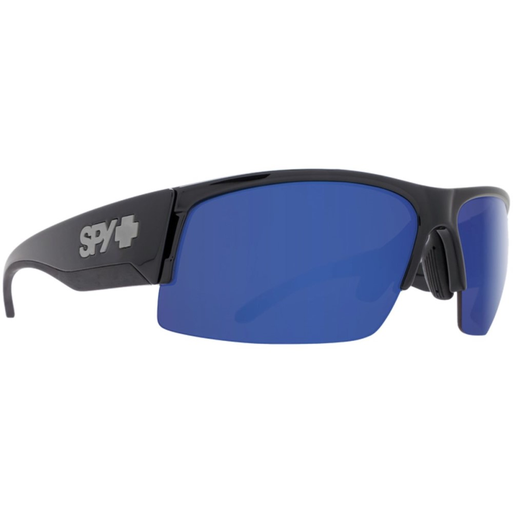 スパイ メンズ スポーツサングラス【Flyer Sunglasses】Matte Black Ansi Rx - Happy Gray Green