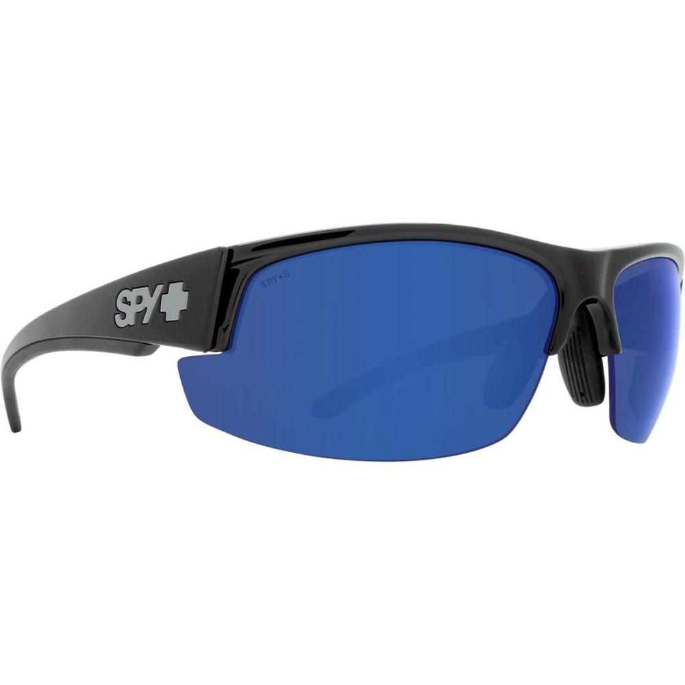 暮らし健康ネット館 スパイ メンズ Blue スポーツサングラス Rx【Sprinter Polarized Sunglasses】Black - Ansi Rx - Happy Bronze Polar W/Dark Blue Spectra, フタツイマチ:fae2825e --- hortafacil.dominiotemporario.com
