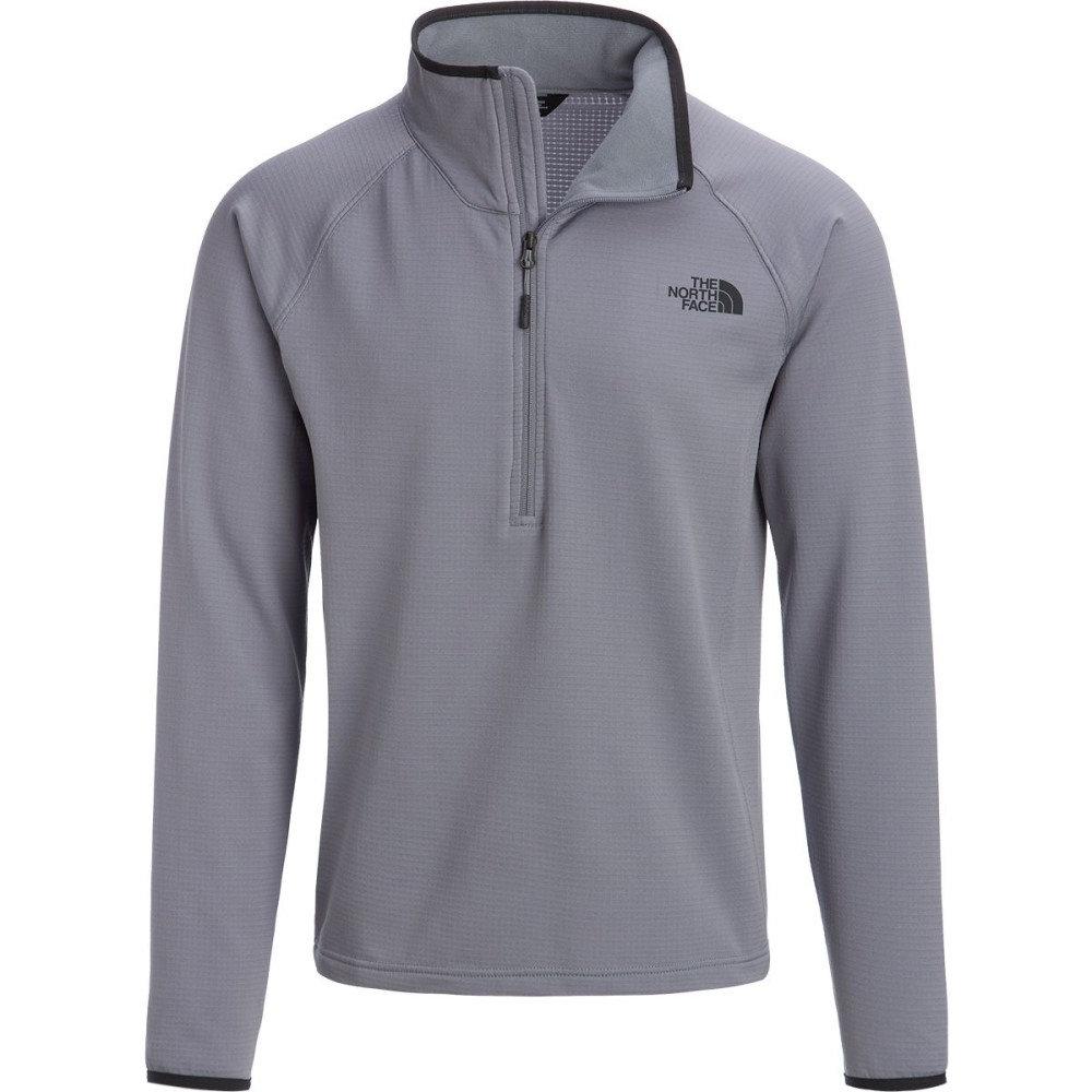ザ ノースフェイス メンズ トップス フリース【Borod 1/4 - Zip Fleece Jackets】Mid Grey