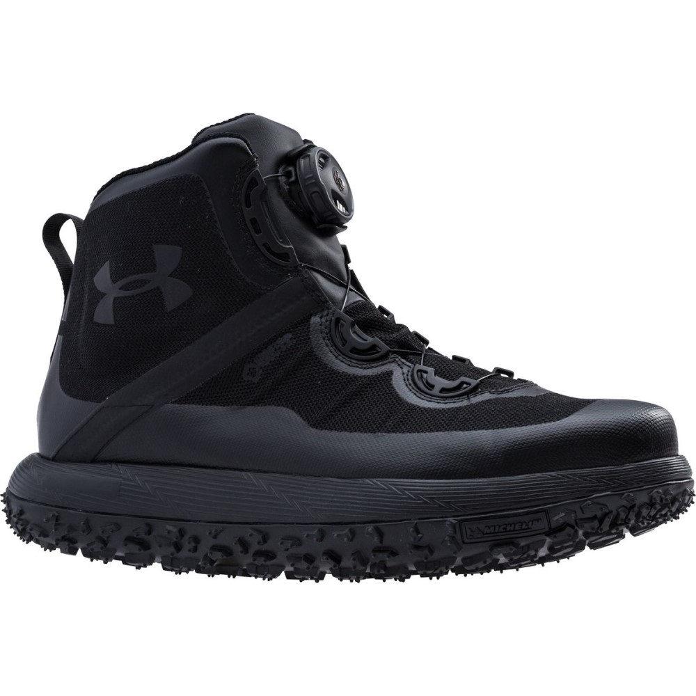 アンダーアーマー メンズ ハイキング・登山 シューズ・靴【Fat Tire GTX Hiking Boots】Black/Black/Black