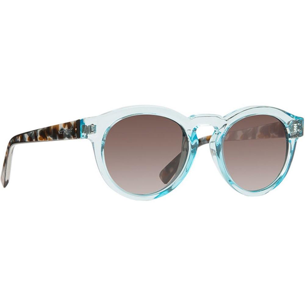 ボンジッパー レディース メガネ・サングラス【Ditty Sunglasses】Powder Quartz Tort/Brown Gradient