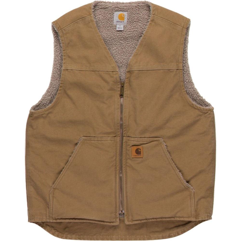 カーハート メンズ トップス ベスト・ジレ【Rugged Vests】Frontier Brown
