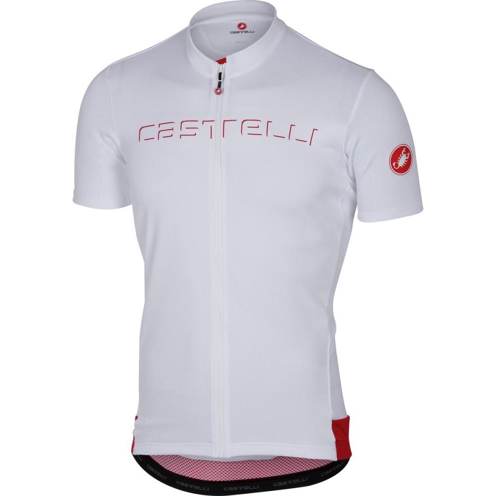 最高級のスーパー カステリ Jerseys】White メンズ 自転車 トップス【Prologo V 自転車 V Jerseys】White, 神戸いたりあ屋/イタリア食材:b9af534a --- canoncity.azurewebsites.net