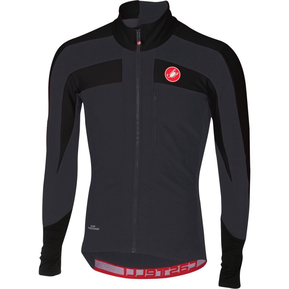カステリ メンズ 自転車 トップス【Trasparente 4 Long - Sleeve Jerseys】Light Black/Black