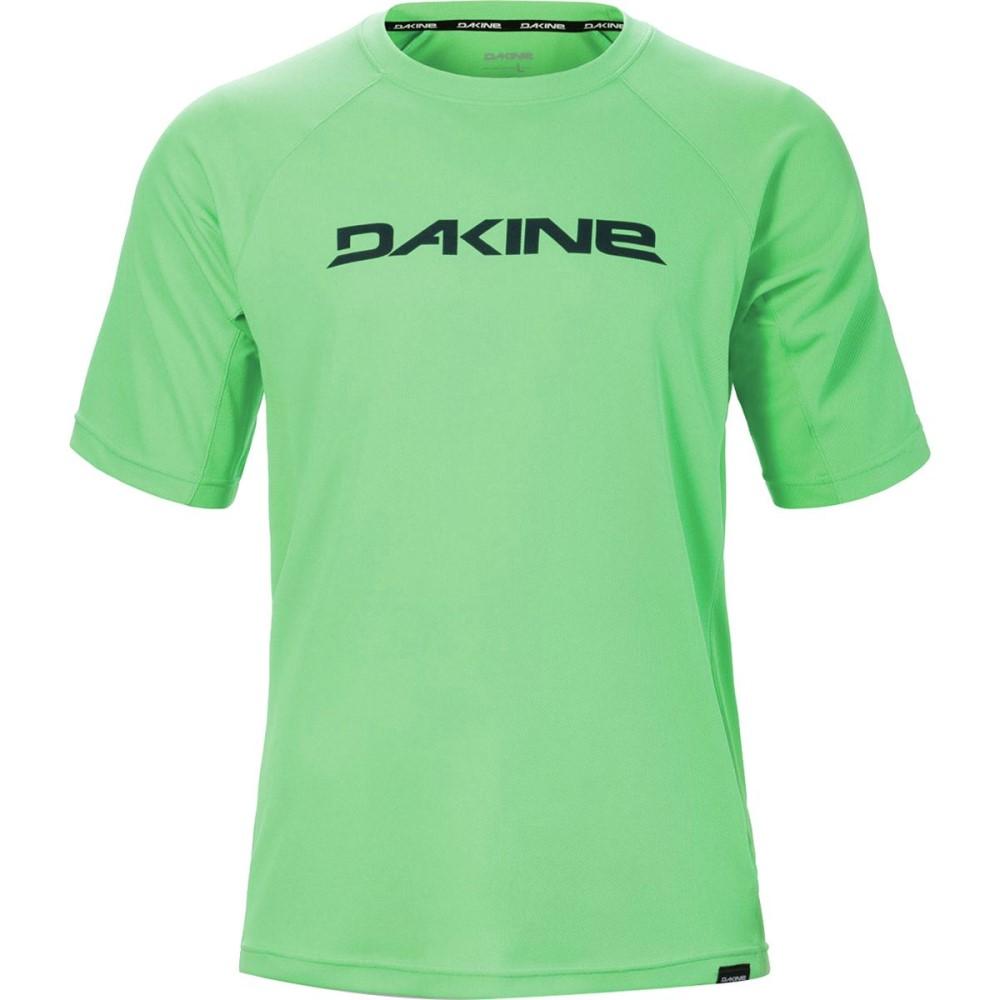 ダカイン メンズ 自転車 トップス【Rail Jersey - Short - Sleeves】Summer Green
