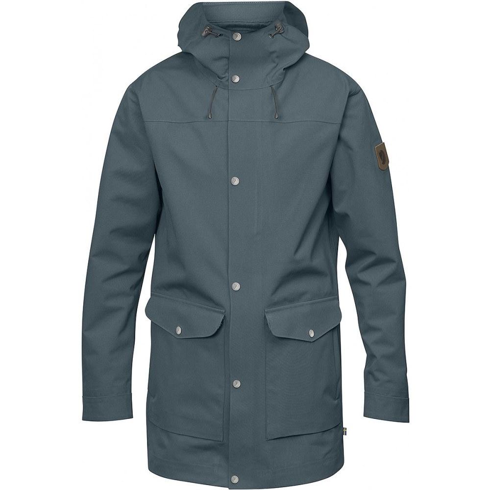 フェールラーベン メンズ アウター レインコート【Greenland Eco - Shell Jackets】Dusk