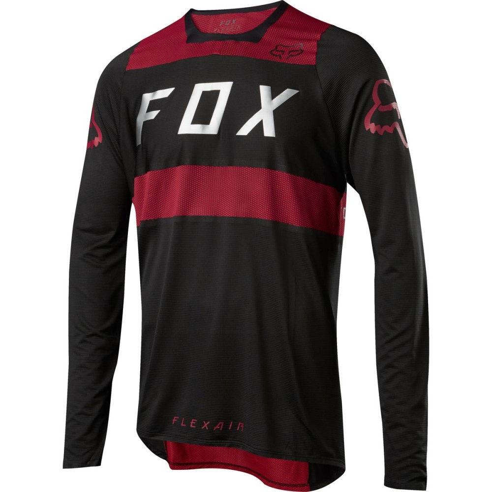 フォックス レーシング メンズ 自転車 トップス【Flexair DH Jerseys】Red/Black
