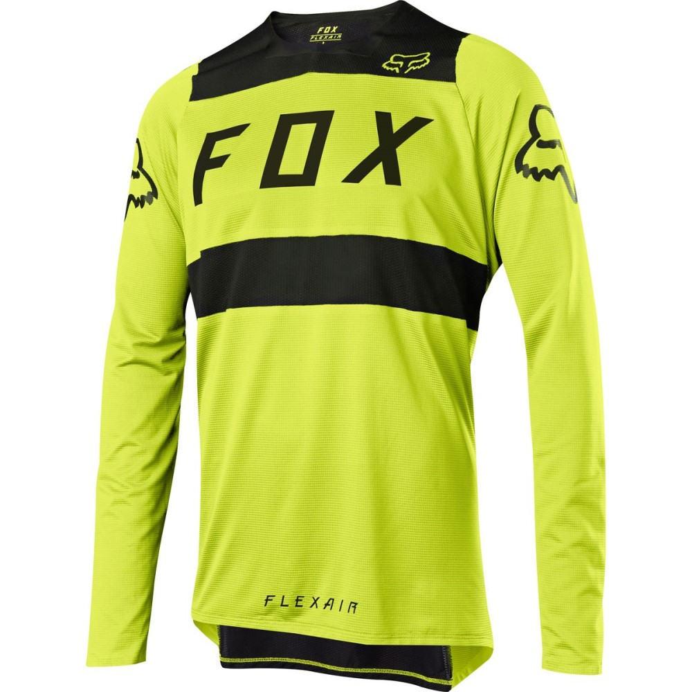 フォックス レーシング メンズ 自転車 トップス【Flexair DH Jerseys】Yellow/Black