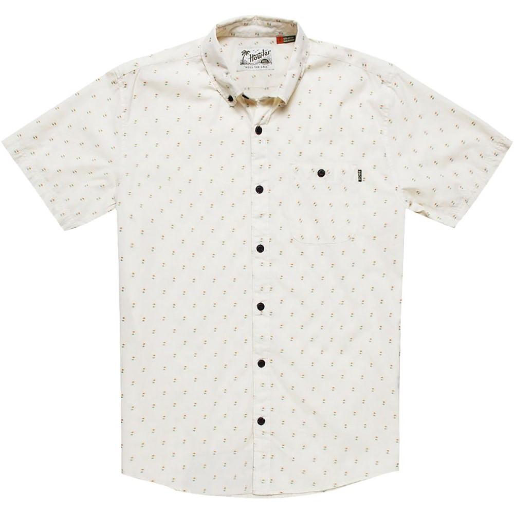ホウラーブラザーズ メンズ トップス 半袖シャツ【Mansfield Dobby Shirts】Parchment Dobby