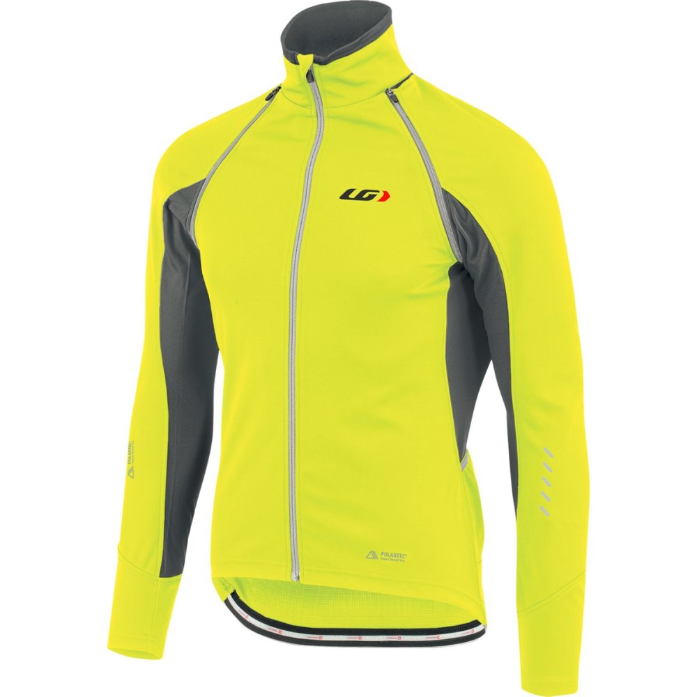 ルイスガーナー メンズ 自転車 アウター【Spire Convertible Cycling Jackets】Bright Yellow