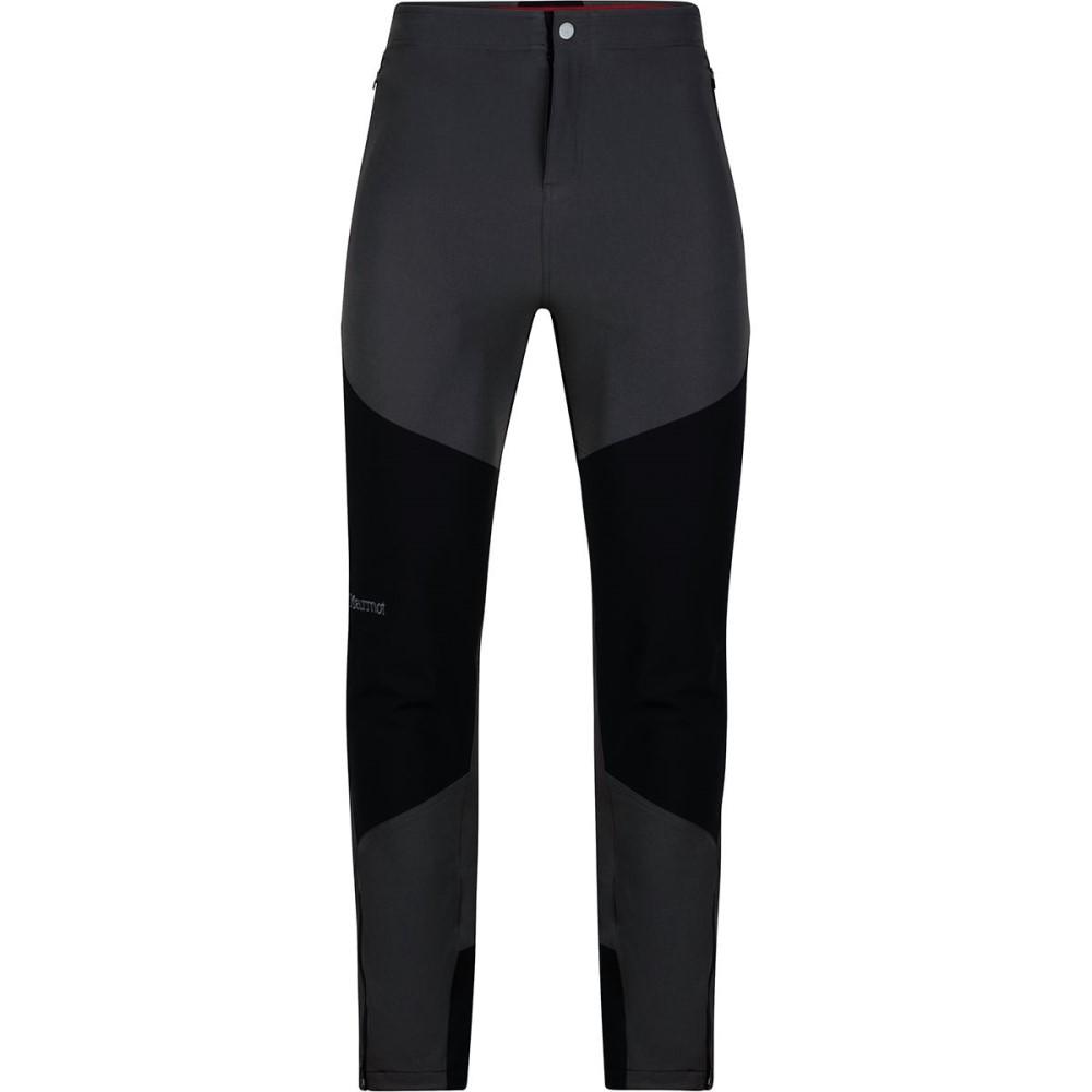 マーモット メンズ ボトムス・パンツ【Pillar Softshell Pants】Slate Grey/Black