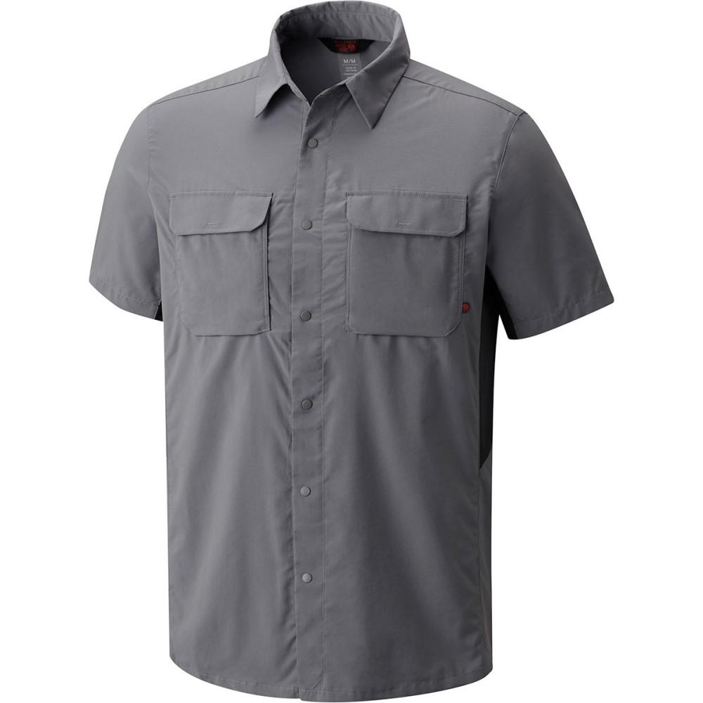 マウンテンハードウェア メンズ トップス 半袖シャツ【Canyon Pro Short - Sleeve Shirts】Manta Grey
