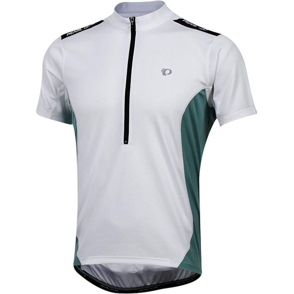 パールイズミ メンズ 自転車 トップス【Quest Short - Sleeve Jerseys】White/Arctic