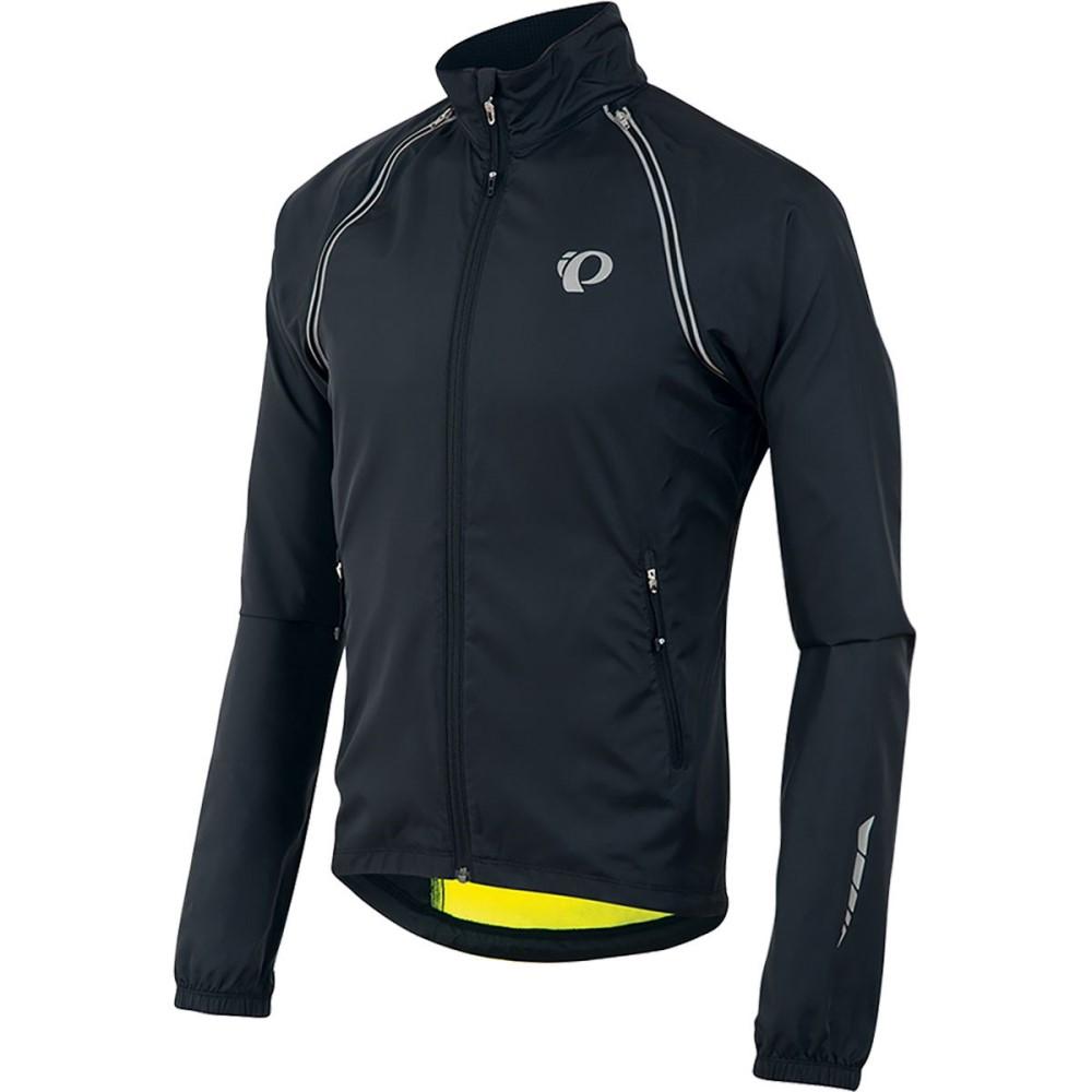 パールイズミ メンズ 自転車 アウター【ELITE Barrier Convertible Jackets】Black