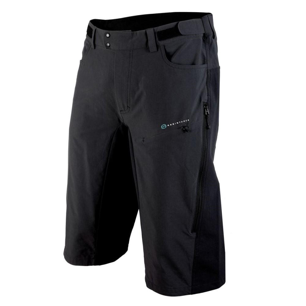 ピーオーシー メンズ 自転車 ボトムス・パンツ【Resistance Enduro Mid Shorts】Carbon Black